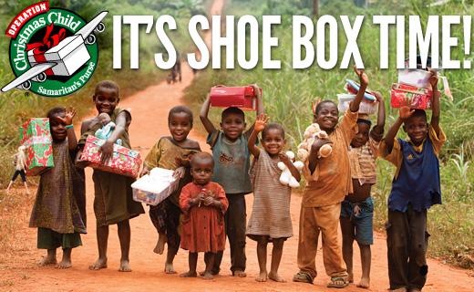 Christmas Shoe Box 2020 Operation Christmas Child